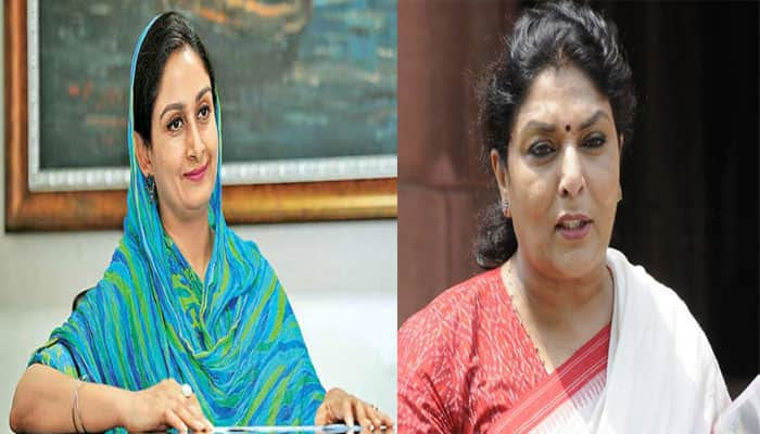 Ugly spat in Parliament - Renuka Chowdhury calls Harsimrat Kaur 'Kachra': Know what happened