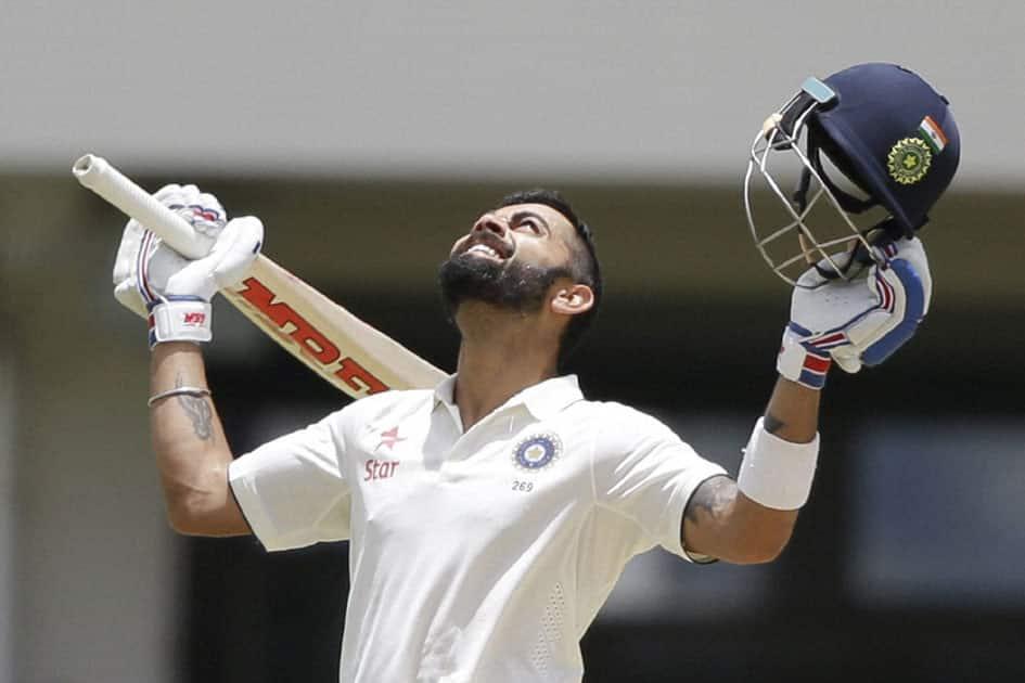 Virat Kohli scores double-century
