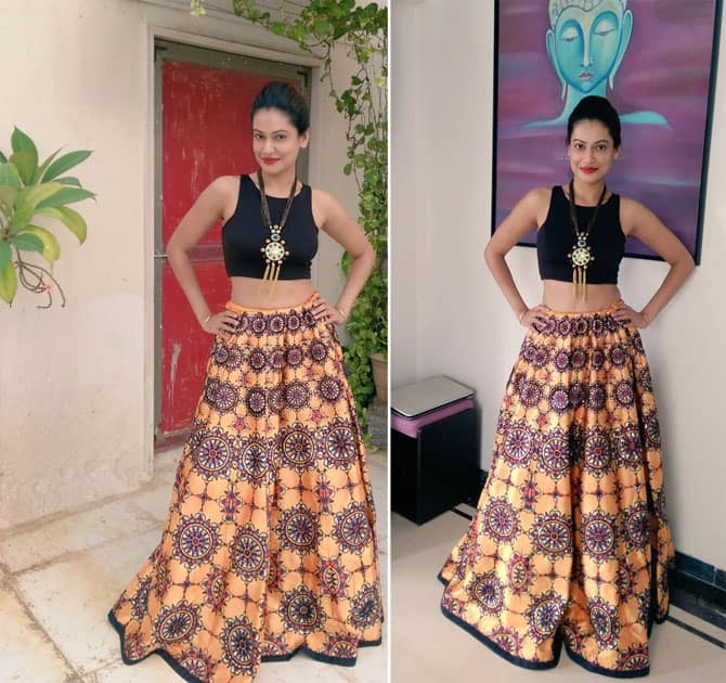 Wearing this lovely #ArchanaKochchar outfit- PAYAL ROHATGI