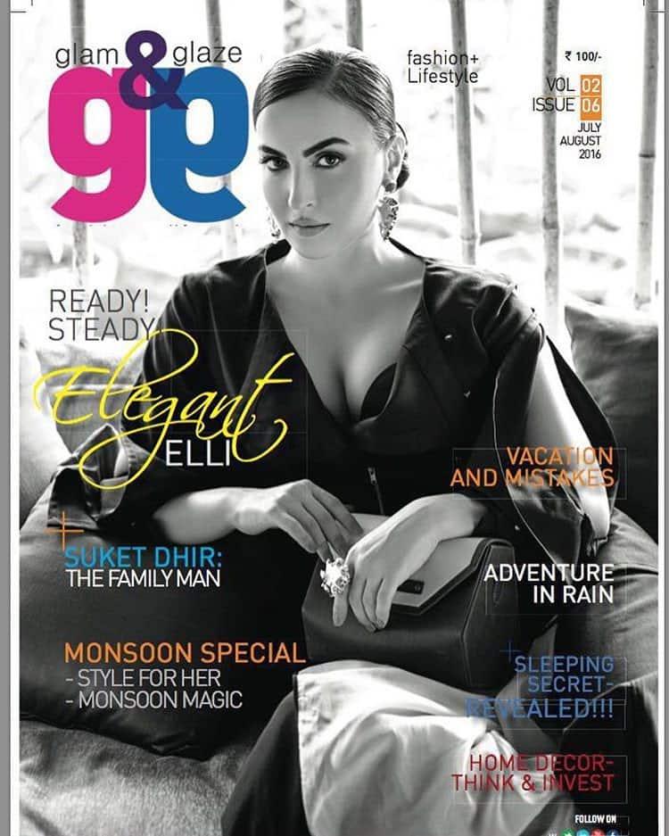elli avram :- Grab your Glam&Glaze magazine today!