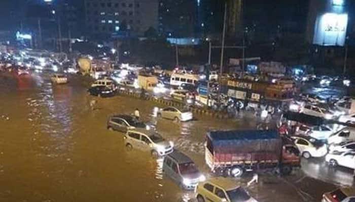 Gurgaon traffic jam live updates