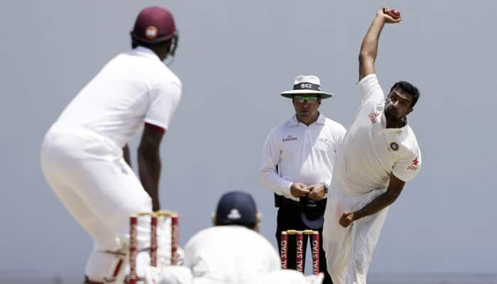 VIDEO – Fall of all 10 West Indies' wickets, with Ravichandran Ashwin grabbing another '5-for'