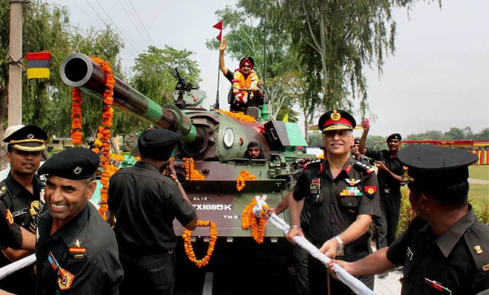Lieutenant General KJ Singh retires