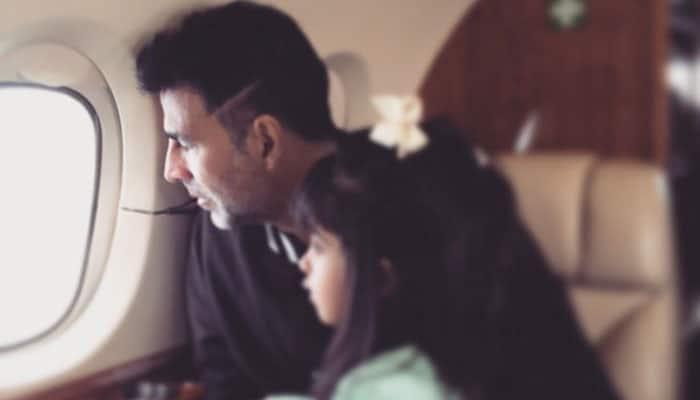 Breath of fresh air! Little angel Nitara makes Akshay Kumar's day 'heavenly'- See pic