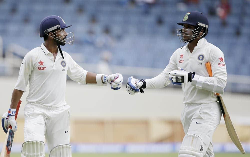 Ajinkya Rahane and Umesh Yadav