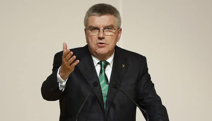 Blanket Olympic ban would be injustice to Russia, says IOC chief Thomas Bach