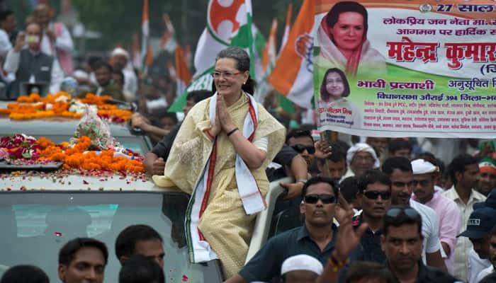 Sonia Gandhi cuts short Varanasi roadshow due to ill health; rushed to Delhi hospital