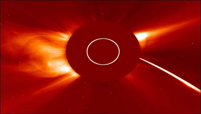 See pic: ESA and NASA's SOHO catch comet grazing the sun!