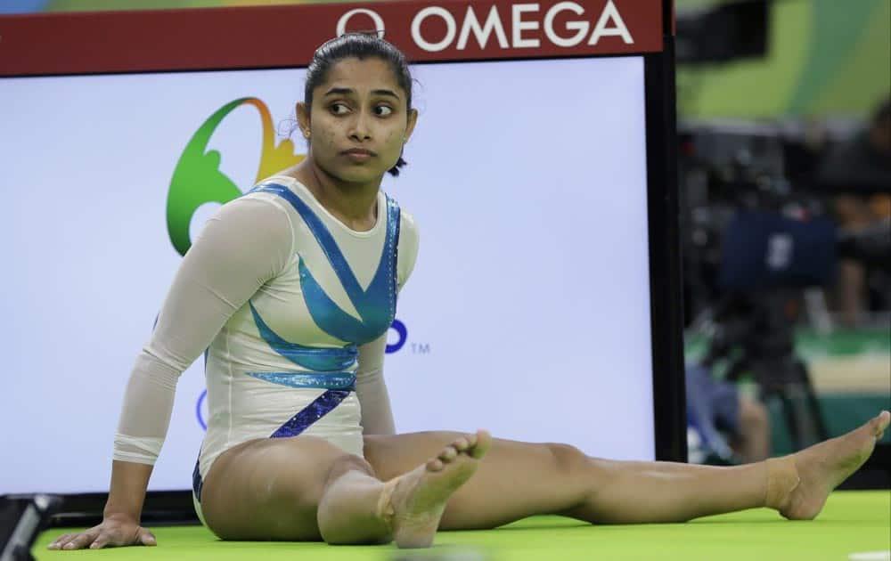 Gymnast Dipa Karmakar