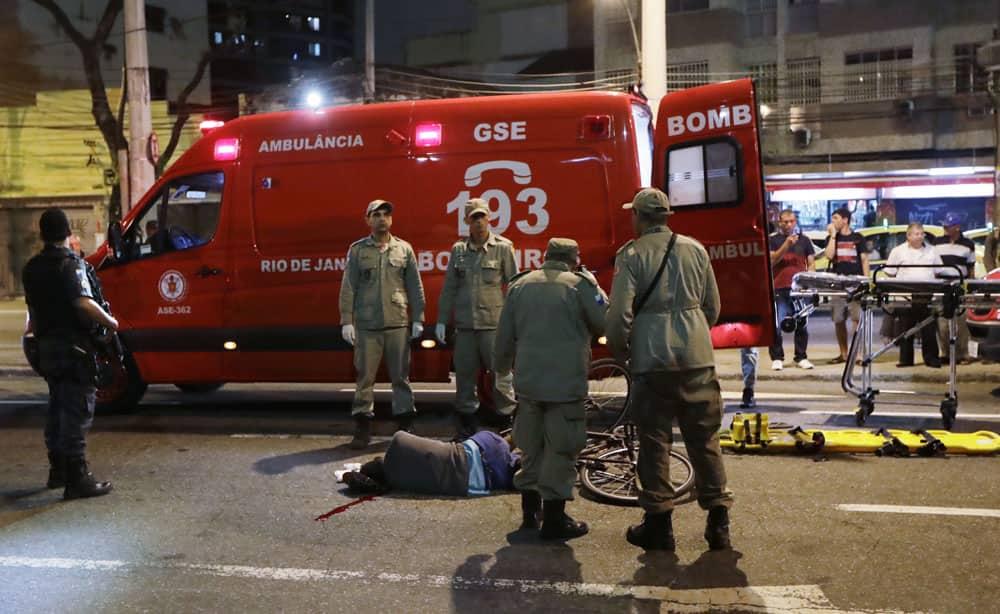 shot and killed near Maracana Stadium