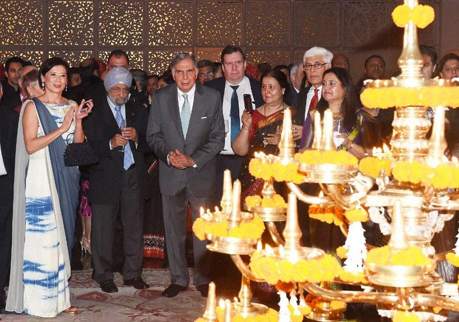 Ratan Tata launch of 'Tajness' at Taj Mahal Palac