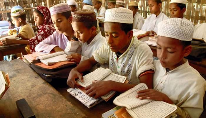 Madrasas in Ujjain refuse mid-day meals from ''Hindu'' organisations - Watch
