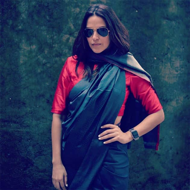 In the midst of the #highfashion madness- Neha Dhupia