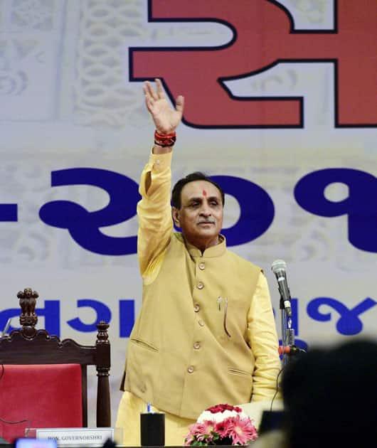 Gujarat CM's oath ceremony
