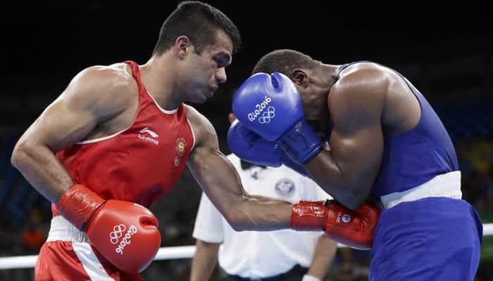 Rousing Start: Boxer Vikas Krishan enters pre-quarterfinals at Rio Olympics