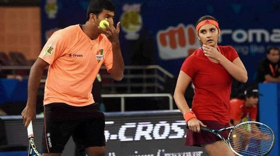 Tennis: Sania Mirza & Rohan Bopanna