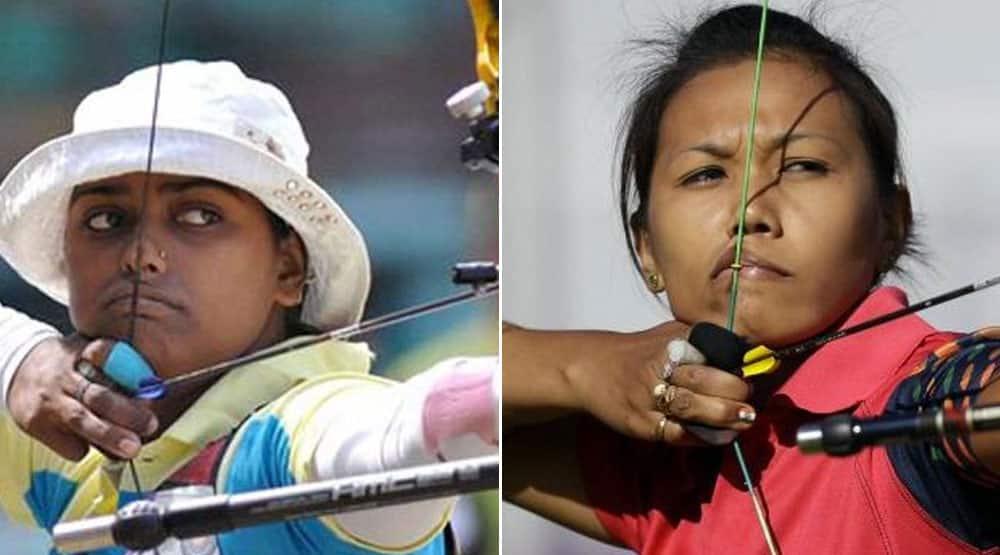 Archery: Deepika Kumari and Bombayla Devi