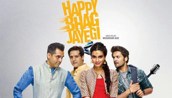 'Happy Bhag Jayegi' promotions: Diana Penty-Abhay Deol-Ali Fazal smitten with love in the city of Lucknow- See pic