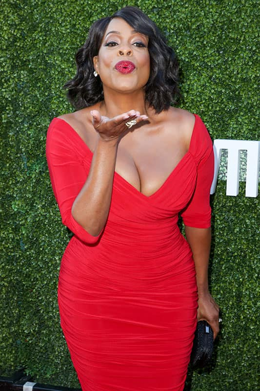 Niecy Nash arrives at the Summer TCA CBS, CW, Showtime Party at Pacific Design Center in West Hollywood, Calif.