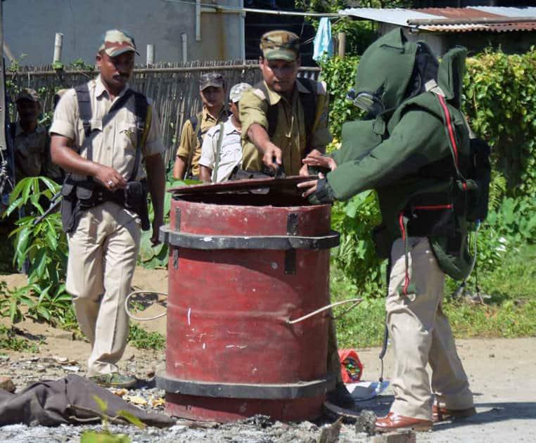 Bomb found near a cinema hall in Sivsagar