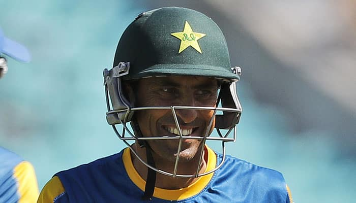 Pakistan great Younis Khan equals Stephen Waugh's record