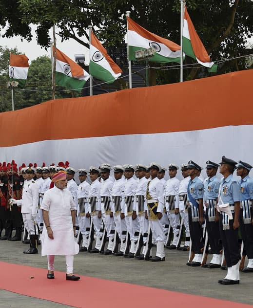 70th Independence Day at Red Fort