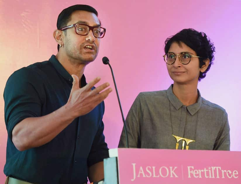 Aamir Khan at a launch