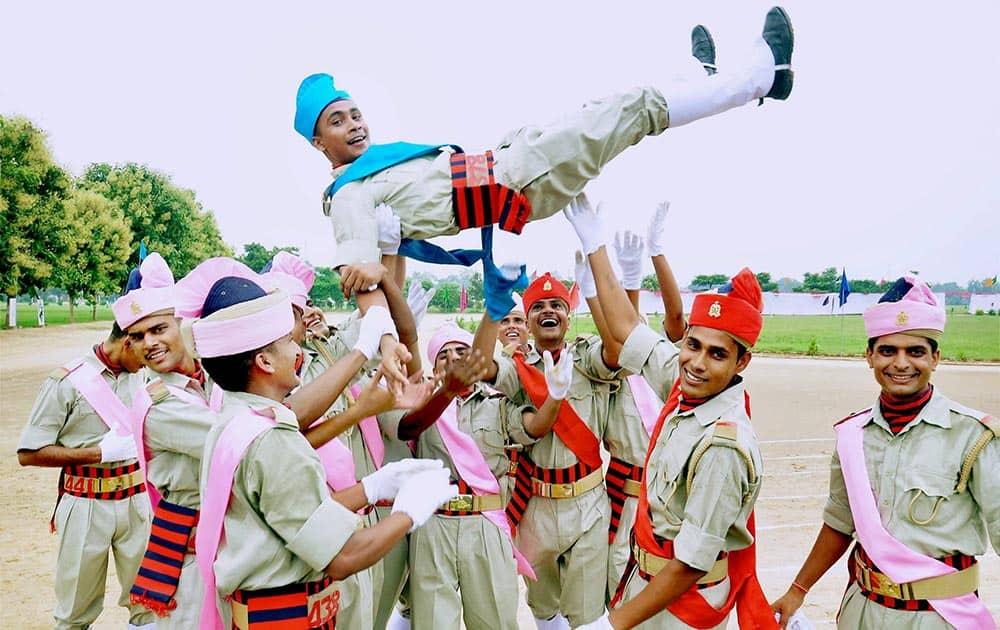 Passout constables celebrate