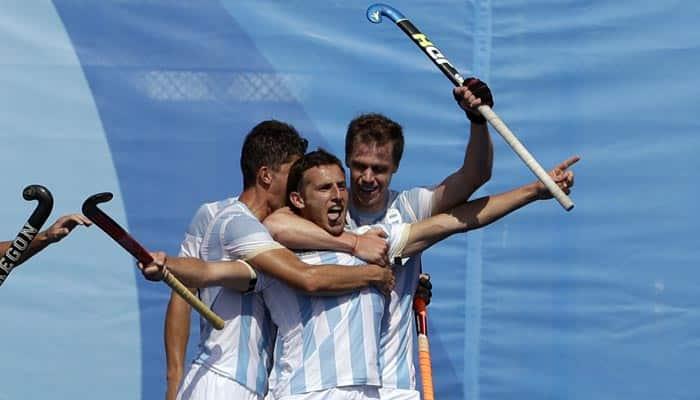 Argentina humiliate defending hockey champions Germany at Rio 2016 Olympics