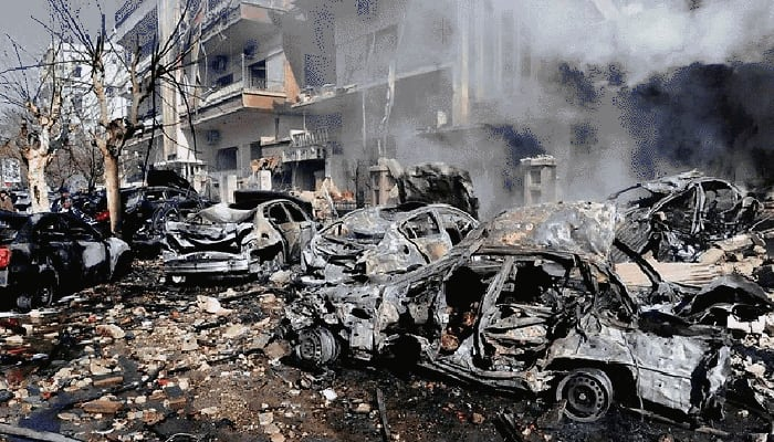 At least 25 killed in bombing in Syria's Idlib town
