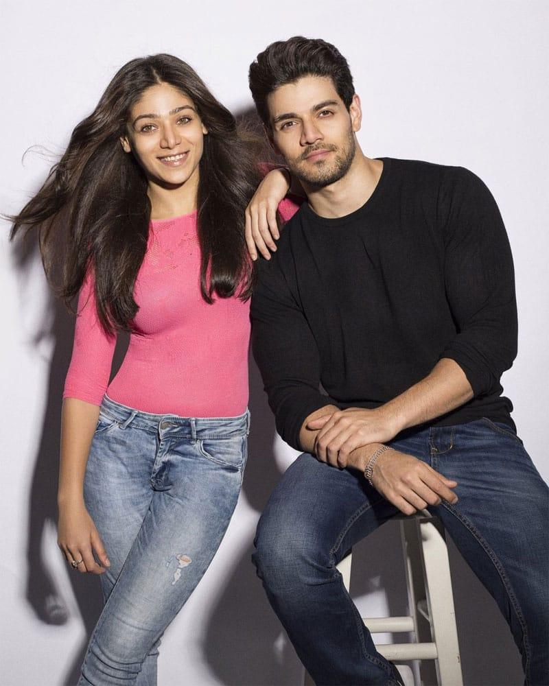 Sooraj Pancholi and Sana Pancholi