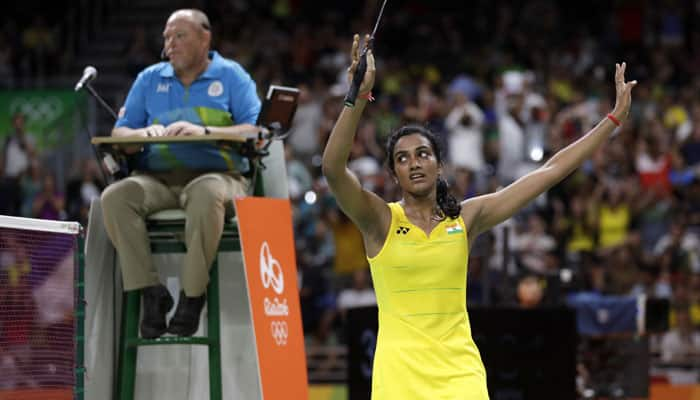 RECAP Day 14: PV Sindhu adds silver lining to India's dismal performance at Rio Olympics