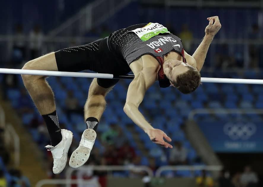 anada's gold medal winner Derek Drouin