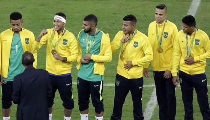 Neymar-led Brazil clinch Gold medal in men's football, defeat Germany 5-4 on penalties
