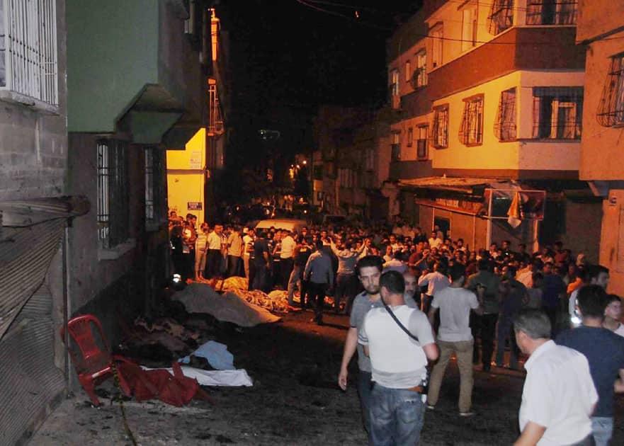 explosion in Gaziantep