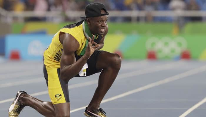 Usain Bolt pictured with Brazilian student on 30th Birthday – Photos go Viral!