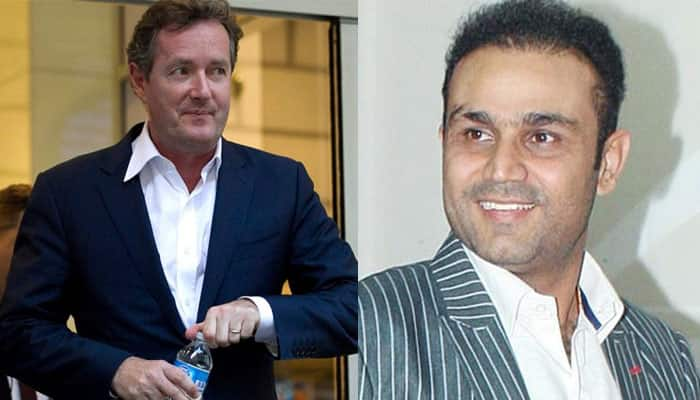 Piers Morgan pokes fun at India's performance in Rio: Here's how Virender Sehwag SHUT him down