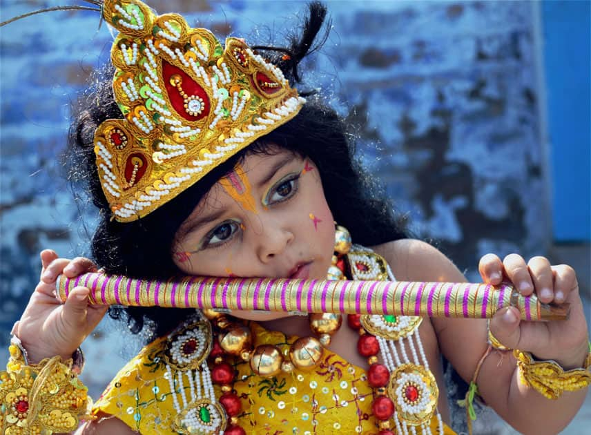 Celebration of Janmashtami