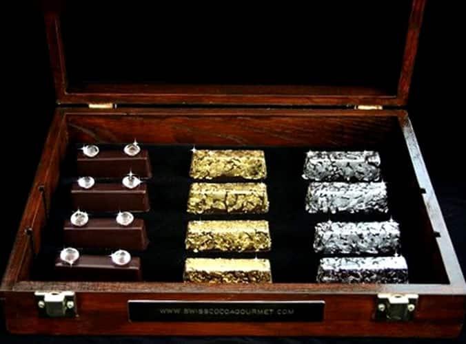 Gold and Diamond Chocolates