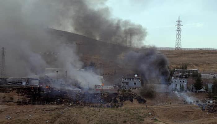 Eleven Turkish police killed in bombing blamed on PKK