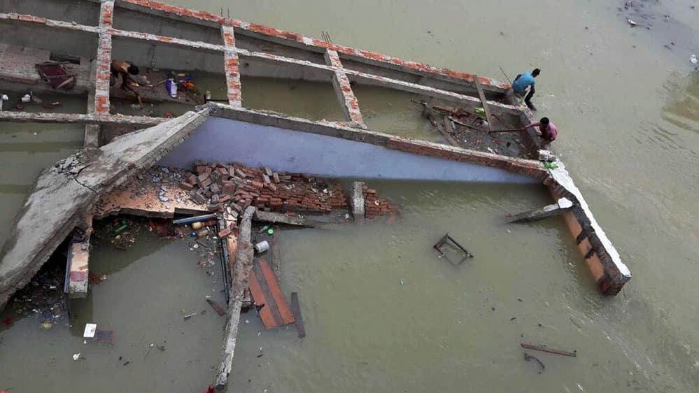 Flood in Chapra
