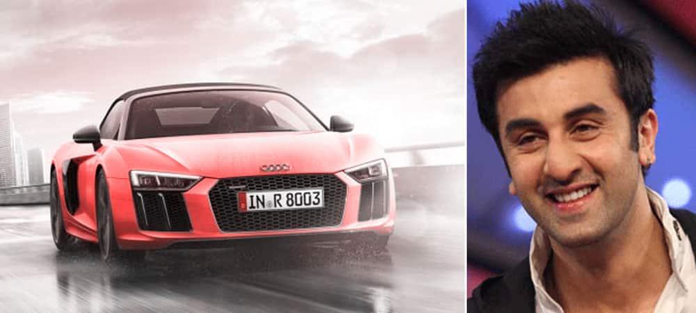 Ranbir Kapoor - Audi R8