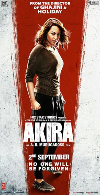 Face her if you dare…5 days to go!- AKIRA/Sonakshi Sinha