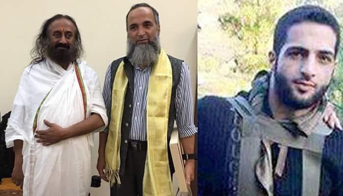 Terrorist Burhan Wani's father stayed at Sri Sri Ravi Shankar's Art of Living ashram for 2 days? Here is why
