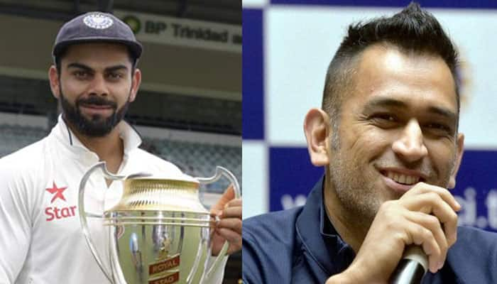MS Dhoni backs Virat Kohli-led team India to claim No. 1 spot in Tests by the end of  home season