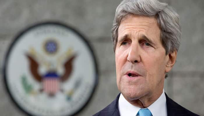 Kerry arrives in India for strategic dialogue; terrorism emanating from Pakistan, visa issues on agenda