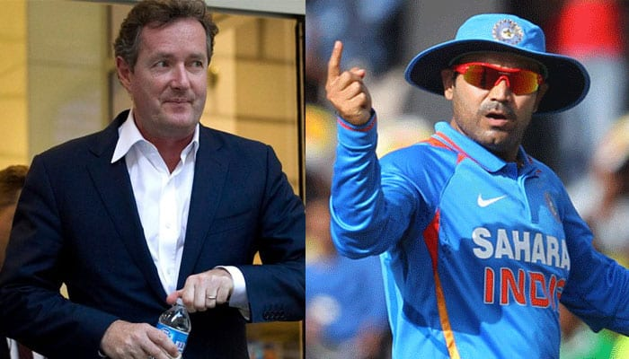 Before he challenged Virender Sehwag to Rs 10 lakh bet, 'embarrassed' Piers Morgan deleted this tweet
