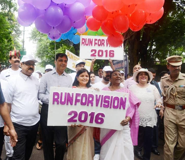 Eye Donation Fortnight 2016'' in Ranchi)