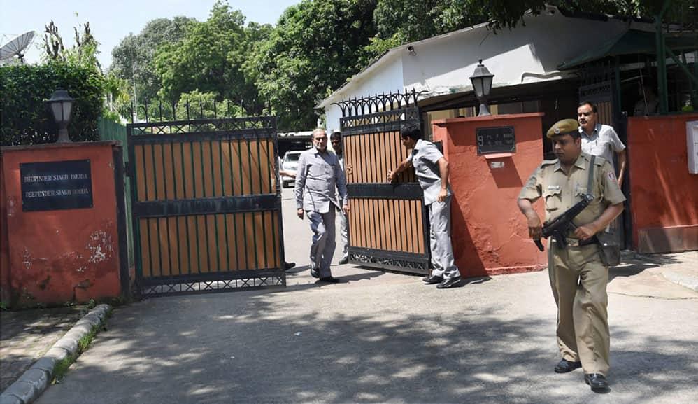 CBI raids Bhupinder Singh Hooda's residence