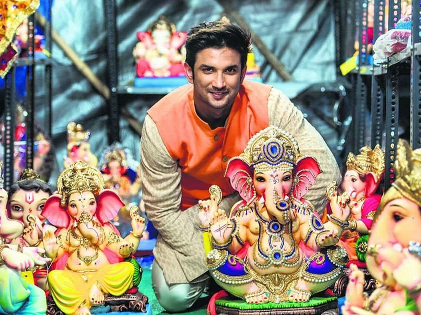 Happy #GaneshChaturthi everyone- Dhoni